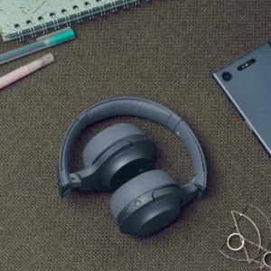 $198.38(原价$299.99)Sony WH-H800/B 黑色无线耳机 出街神器 让我们一起摇摆