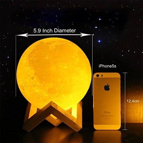 3D打印月亮夜灯