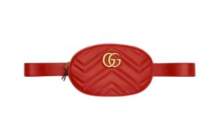 Gucci: Red GG Marmont 2.0 Belt Bag | SSENSE