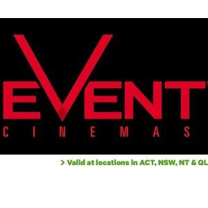 $13.5 (原价$22)囤票好时机:Event Cinemas 电影票