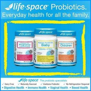 满AU$79免邮+新人AU$0免邮Life Space 生物益生菌低至6.9折起,塑身款 60粒¥144