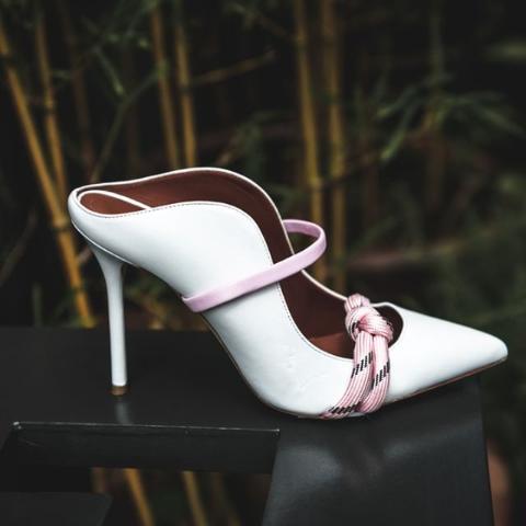 低至7折 仙女细带穆勒鞋£311Malone Souliers 意大利高端仙女鞋加入折扣 复古优雅又性感