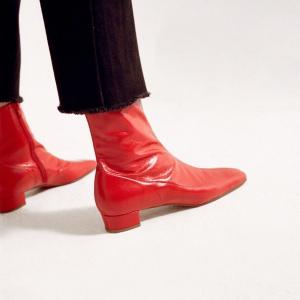 低至6折 171欧收经典pumpBy Far 小众美鞋新品罕见折扣 优雅复古小众品牌