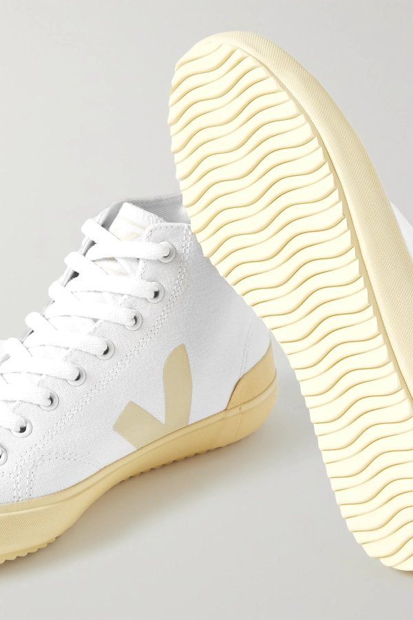 Nova organic 高帮小白鞋
