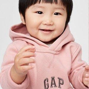 一律6折+8折 清仓区也参加即将截止:Gap  儿童服饰亲友特卖会 包邮门槛降至$25 封面$7.2