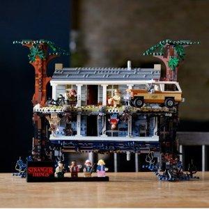 VIP已可购买 $269.99+乐园门票买1送1预告:LEGO官网 怪奇物语75810,6月1日上市