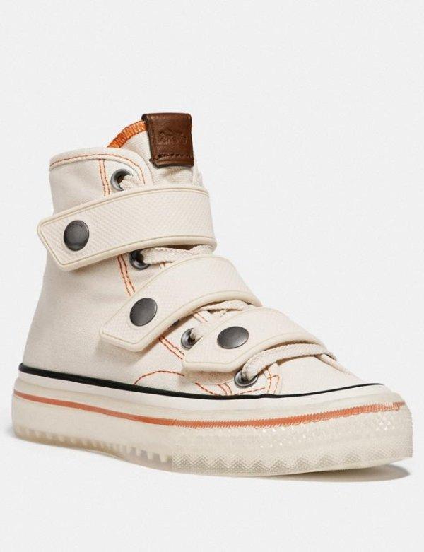 高帮帆布鞋