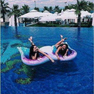 低至2折 $4.94起Walmart官网 泳池漂浮水床特卖 超多款式可选