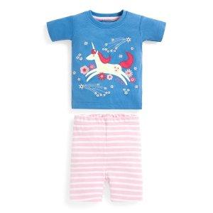JoJo Maman Bebe女婴幼童睡衣套装