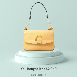 全场8折 小众美包$248起Chloe等大牌精选美包美鞋专场 超好价收 Chloe C bag