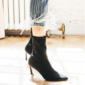 无门槛7.5折+免邮Stuart Weitzman 美鞋热卖,收大幂幂同款马丁靴