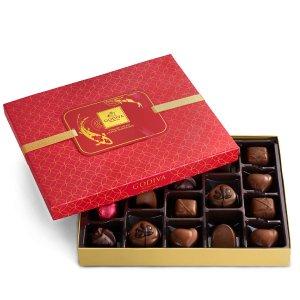$24.12 + 包邮Godiva 中国年限量款巧克力礼盒 含18颗