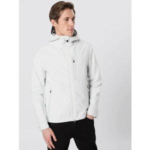 Duck男式白色外套