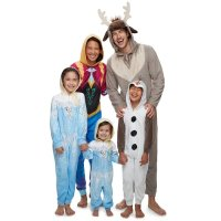 Frozen 家庭亲子家居服,以婴儿款为例
