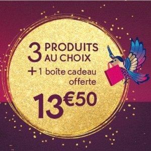 3件产品+礼品盒仅€13.5Yves Rocher 自选福袋上线 圣诞礼物、回国伴手礼就送它