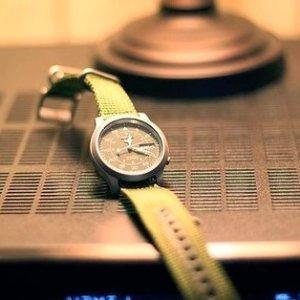 近期好价¥416Seiko 精工 5系列 SNK805 男款机械表