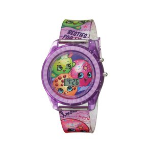 Amazon Shopkins Girls' Quartz Watch with Plastic Strap