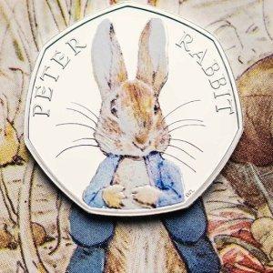 低至8折 单币,套装都参与The Royal Mint 皇家铸币厂小萌兔,帕丁顿熊纪念币折扣热卖
