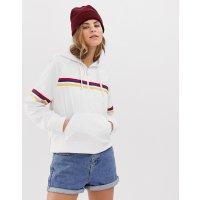 Hollister 彩虹条纹外套