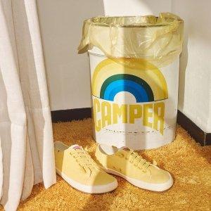 低至6折+折上85折 €50收马卡龙运动鞋Camper官网大促 西班牙国民鞋履品牌 颜值满分 舒适度兼备