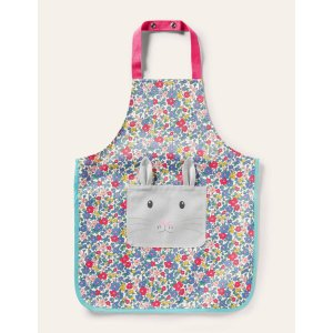 BodenNovelty Apron - Multi Floral Bunny | Boden US