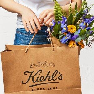 满$120送7件套 含明星中样Kiehl's 全能型护肤全线赠礼 紫玻A抗老面霜3件套$188