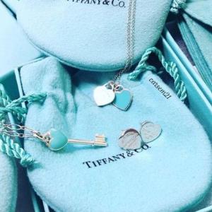 prime day 秒杀 到手$123.3收双心项链直邮美国 Tiffany&Co 多款首饰 额外8折 限时特价