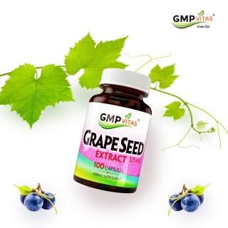 7折 免税直邮中国最后一天:GMP Vitas 天然保健品,收高含量葡萄籽