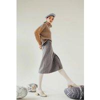 Petite Studio 羊毛半身裙
