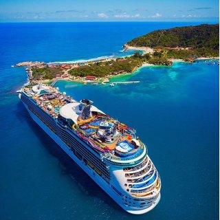 $431起 停靠科苏梅尔岛+开曼群岛皇家加勒比游轮 7晚西加勒比行程 德州加尔维斯顿往返