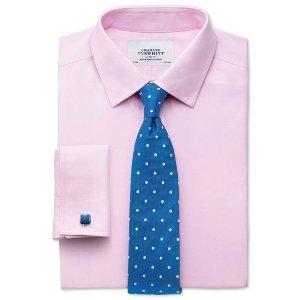 Charles Tyrwhitt4件$78.2男士商务免熨衬衫