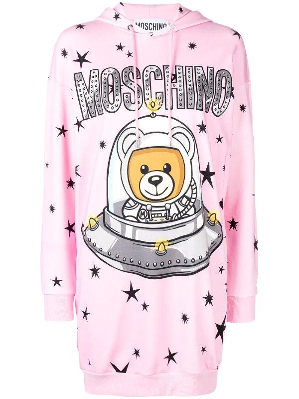 Space 小熊连衣裙