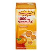 Emergen-C 1000mg 维生素C 橘子味 30包