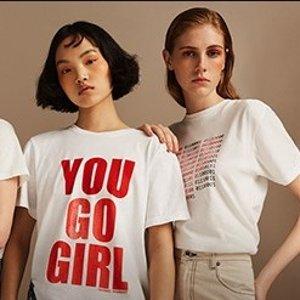 $130起女性力量 Women Power T恤慈善热卖