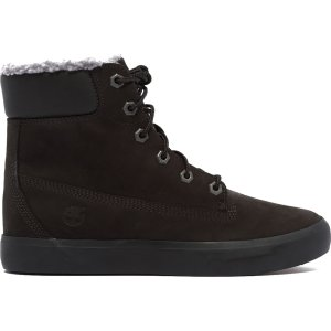 Timberland6孔加绒靴