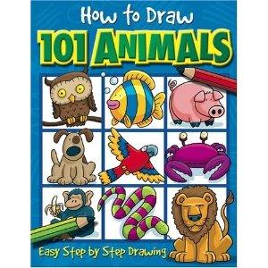 如何绘制101动物