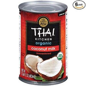 $13.39闪购:Thai Kitchen 有机椰奶 13.66 oz 6罐