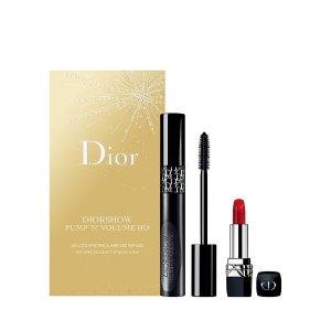 Dior任意单3倍积分口红睫毛膏套装