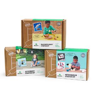 Kiwico 人气手工盒子3件套 适合6岁+ 生物、航空、动物都了解