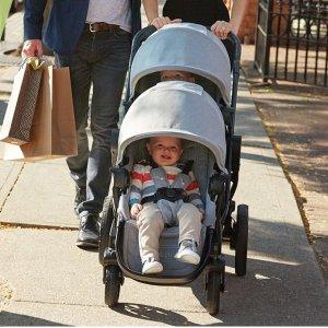 8.5折 折叠后身形娇小Baby Jogger官网 city select百变童车热卖,三个娃都能Hold住
