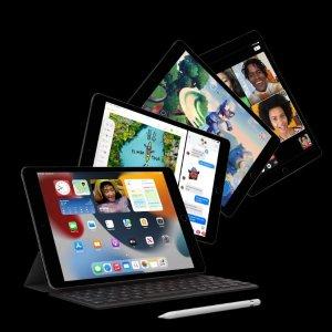 """$499起 加量不加价 抢先预购Apple iPad 9 10.2"""" 发布, A13芯片, 人物居中功能, 容量翻倍"""
