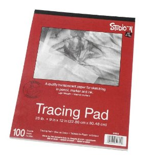 $3.99Darice 9-Inch-by-12-Inch Tracing Paper, 100-Sheets