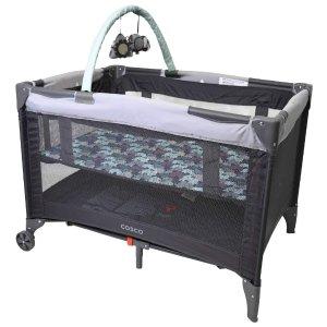 $79.99包邮(原价$99.97)Cosco 高级婴儿游戏床 可折叠 网面护栏