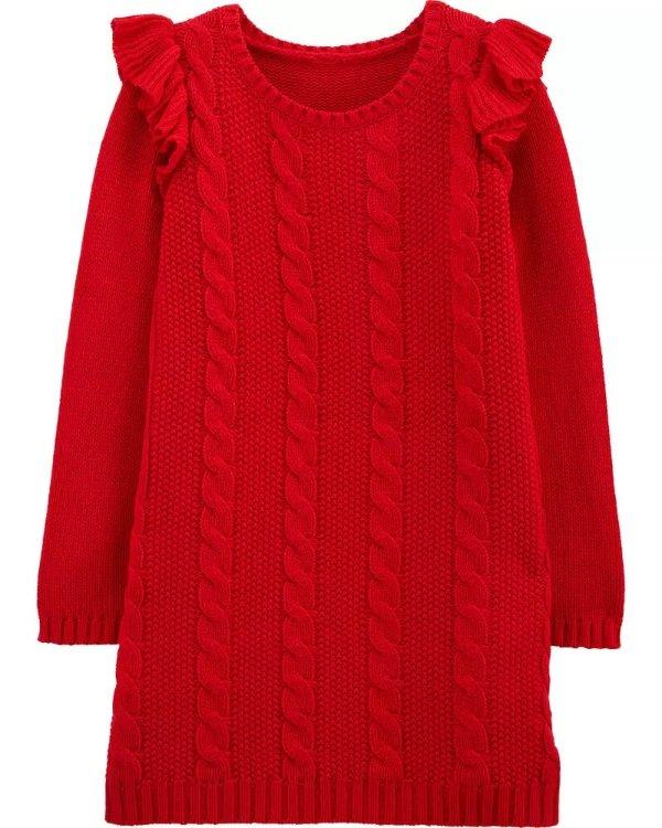 小童针织连衣裙