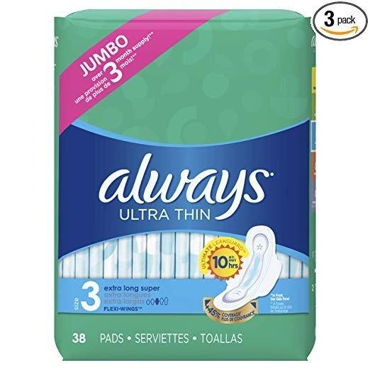 卫生巾 3号尺寸 114片