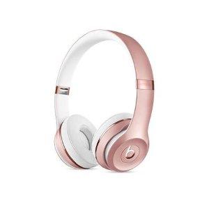 BeatsBeats SOLO 3 玫瑰金耳机