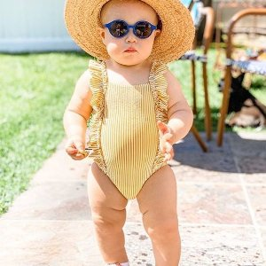 5折起 宝宝连体衣3件仅€17Petit Bateau 夏日特惠 法国百年婴幼儿时装 专业品质著称
