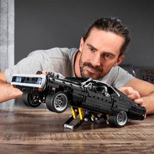 $94.99包邮 比官网低$5新品上市:LEGO 科技组 道奇 Charger 42111