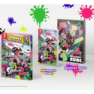 Splatoon 2 with Bonus Splategy Guide - Nintendo Switch