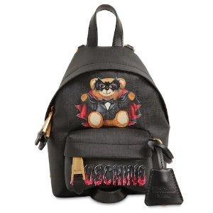 无门槛8.5折 星标也参加Moschino 春节大促嗨翻天 新品小熊都参与 收T恤、双肩包